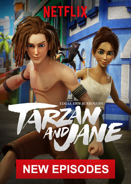 Edgar Rice Burroughs' Tarzan and Jane on Netflix Canada